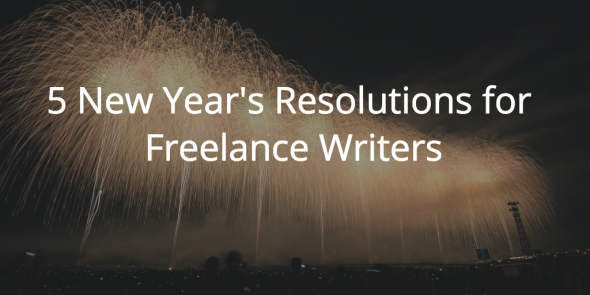 new years resolutions for freelance writers