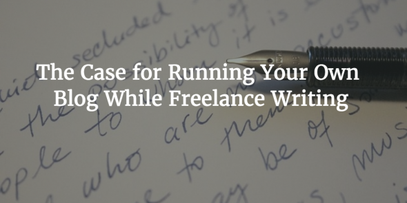 freelance writers personal blog