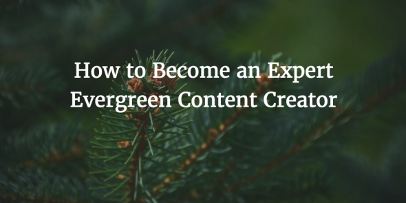 write evergreen content tips